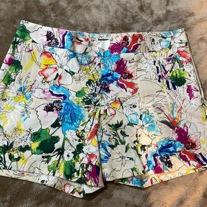 Bright Floral Shorts